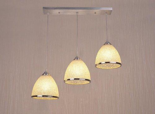 LED Ristorante Chandelier Tu Hao Oro Sala da pranzo lampade, tre ...