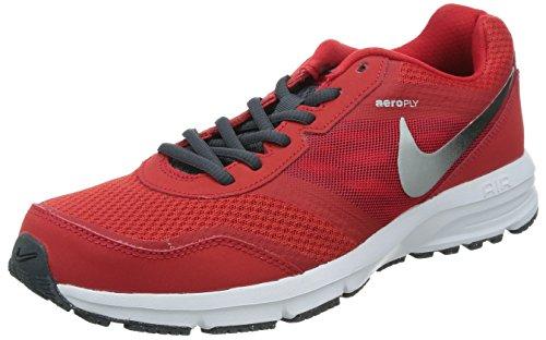 Nike Air Relentless 4 - Zapatillas de running Hombre Rojo / Plateado / Negro (Unvrsty Rd / Mtllc Slvr-Blk-Dk M)