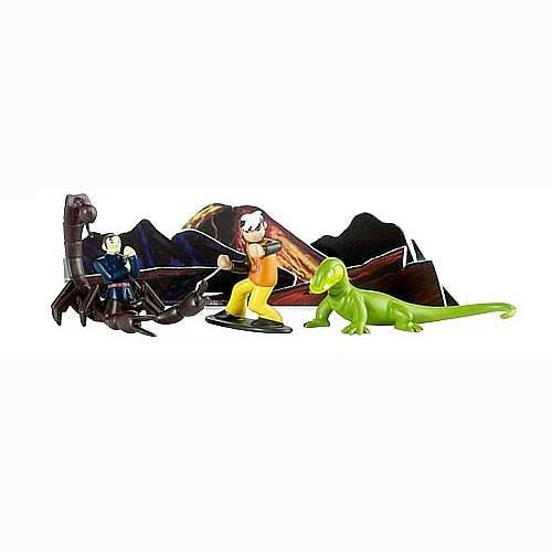 The Secret Saturdays Mini Figure Multi Pack Volcanic Disruption: Zak, Komodo, Baron Finster