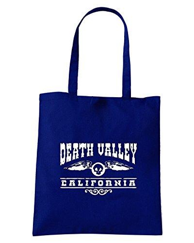 T-Shirtshock - Bolsa para la compra OLDENG00322 death valley california Azul Marino