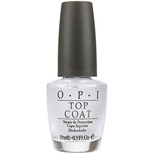 (OPI Nail Lacquer, Top Coat, Clear, 0.5 fl oz)