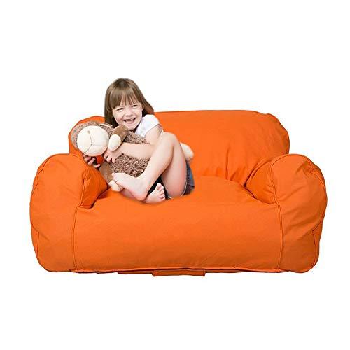 Dporticus Mini Lounger Sofa Bean Bag Chair Self-rebound Sponge Double Child Seat  35.4