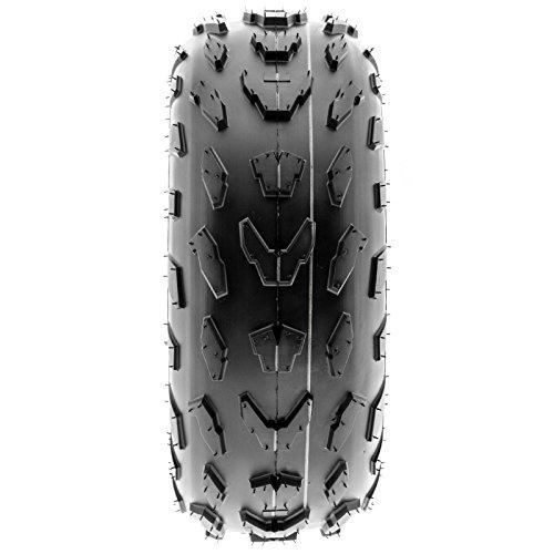 SunF 18x7-7 18x7x7 ATV UTV A/T Quad Race Replacement 4 PR Tubeless Tires A007, [Set of 2] by SunF (Image #7)