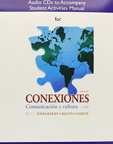 SAM Audio CD for Conexiones: Comunicacion y cultura