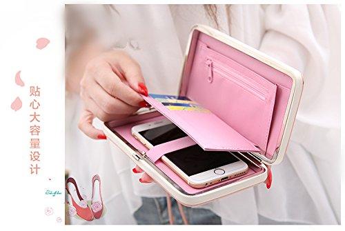 MOCA Cute Women s Wallet Clutch Long Purse Hand  Amazon.in  Electronics ab9749b7d4