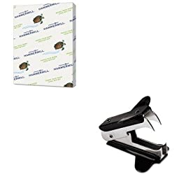 KITHAM102640UNV00700 - Value Kit - Hammermill Recycled Colored Paper (HAM102640) and Universal Jaw Style Staple Remover (UNV00700)