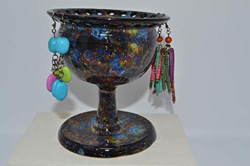 Handmade Ceramic Pedestal Earring/Jewlery Holder