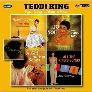 Price comparison product image 4 Classic Albums Plus -Teddi King - Bidin My Time / To You / Girl & Her Songs by Teddi King (2012-07-17)