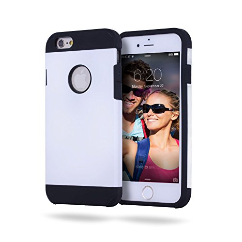 iPhone 6 Case by Alpha Armour, Protective Carrying Cases Come In Many Color Options [Color - Magical White]