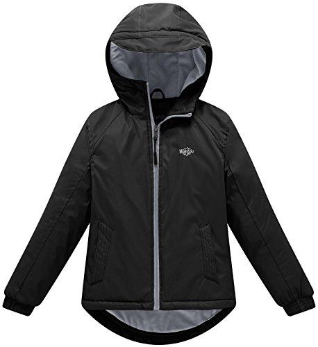 Black Snowboarding Jacket - 8