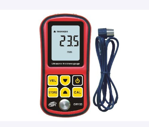 GM100 Ultrasonic Thickness Gauge 1.2~220mm (Steel)