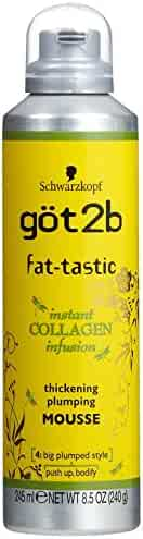 got2b fat-tastic Instant Collagen Infusion Mousse 8.50 oz