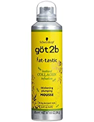 got2b fat-tastic Instant Collagen Infusion Mousse, 8.5 Ounces