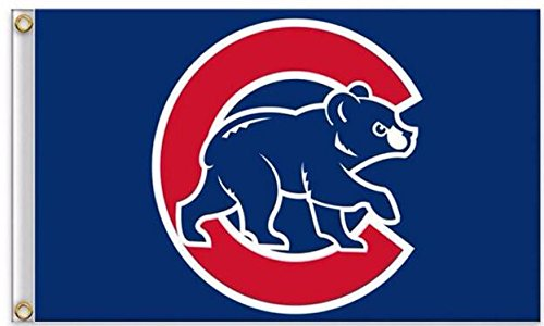 Five Star Flags New Chicago Cubs Flag, Cubs Flag, Flag for Indoor or Outdoor Use, 100% Polyester, 3 x 5 Feet.