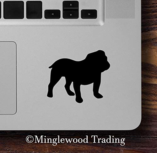 Minglewood Trading Light Brown - Set of Two (2) English Bulldog 2.5
