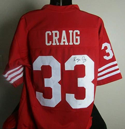 3db45502c San Francisco 49ers Autographed Jerseys