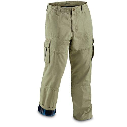 UPC 885344249267, Guide Gear Men's Flannel Lined Cargo Pants, Gray, W34 L34