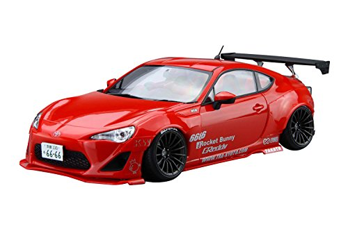 1/24 The Tuned Car ZN6 TOYOTA 86 '12 GREDDY & ROCKET BUNNY ENKEI Ver. (Plastic Model) -