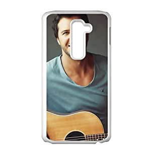 Approachable guitar prince Luke Bryan Cell Phone Case for LG G2