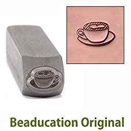 Metal Stamp Latte