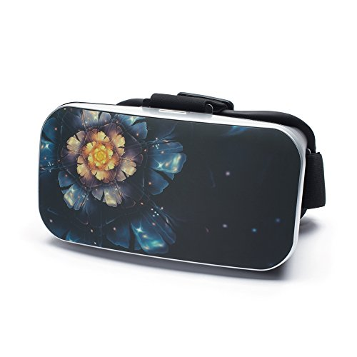VR Virtual Reality Brille by aricona - Gaming Headset für Filme & Spiele in 3D Format für 4.0 - 6.0 Zoll Smartphones, in Fantasy Design
