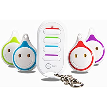 Esky Wireless RF Item Locator Key Finder Item Tracker Phone Tracker Finder Anything Finder With Pet, Wallet, Cat