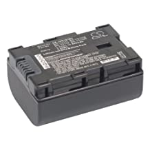Battery2go Li-ion BATTERY Pack Fits JVC BN-VG107U, GZ-MG680, GZ-MS230RU, GZ-E...