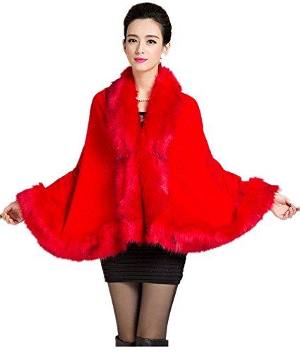 Manteau Taille Charmly rouge Unique Femme vif ZEdrdqUW
