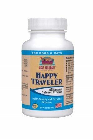 Ark Naturals 6-32634-10009-4 Happy Traveler 30 Capsules, My Pet Supplies