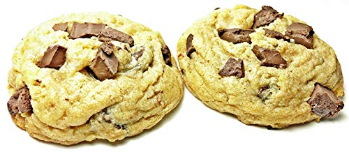 Chocolate Chip Cookies Fresh Baked 1 1/2 Lb. Gift Box Gourmet-Gift Giving- Natural -Cookies Soft Baked & Chewy -Snacks -Baby g's Cookies (Chocolate Chip, 1 1/2 Lb. (Cream Belgian Chocolate Cookies)