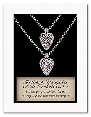 Cathedral Art LS115 Mother and Daughter Locket Set, 18-Inch