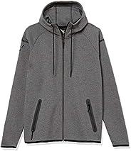 Amazon Brand - Peak Velocity Men's Metro Fleece Full-Zip Athletic-Fit Ho