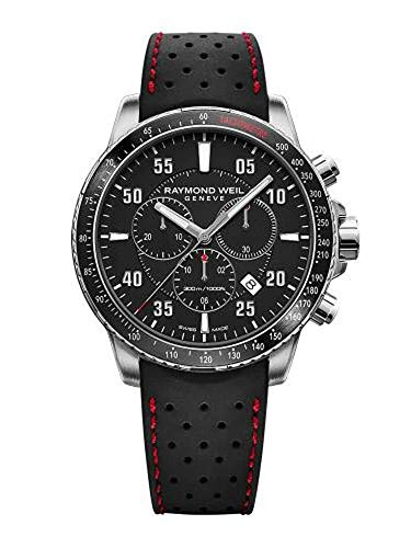 Raymond Weil Tango Chronograph Black Dial Men's Watch 8570-SR1-05207