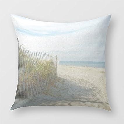 Amazon Mydesigner Sandy Neck Beach Cape Cod Throw Pillow Cover Inspiration Cape Cod Decorative Pillows