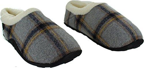 Homeys Uomini Grigi Per Beasley Gli Pantofole RZIxTrRwqf