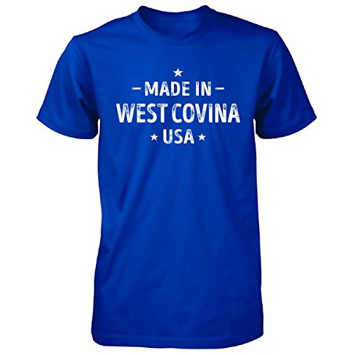 Made In West Covina City, Usa. Cool Gift - Unisex Tshirt Royal (City Of Covina Jobs)