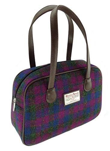Ladies Harris Tweed Authentic Square Handbags LB1005 Col54