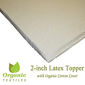 Amazon Com All Natural Latex Non Blended Firm Mattress
