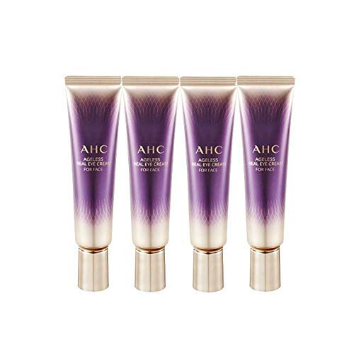 AHC 2019 New Season 7 Ageless Real Eye Cream for Face 1 Fl Oz 30ml x 4 Anti-Wrinkle Brightness Contains Collagen