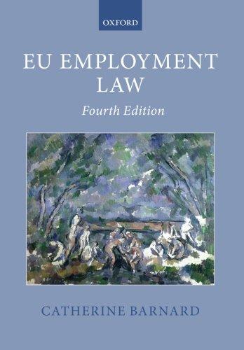 EU Employment Law (Oxford European Union Law Library)