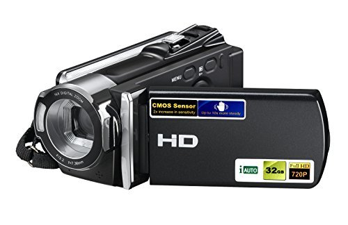 PowerLead PL-C05 HD 720P 16MP Digital Video Camcorder with 2.7″ LCD and 270 Degree Rotation