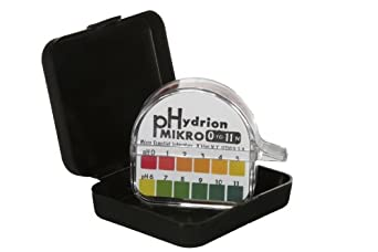 Micro Essential Lab M-1050 Mikro pH Test Paper, 0 - 11 pH, Double Roll