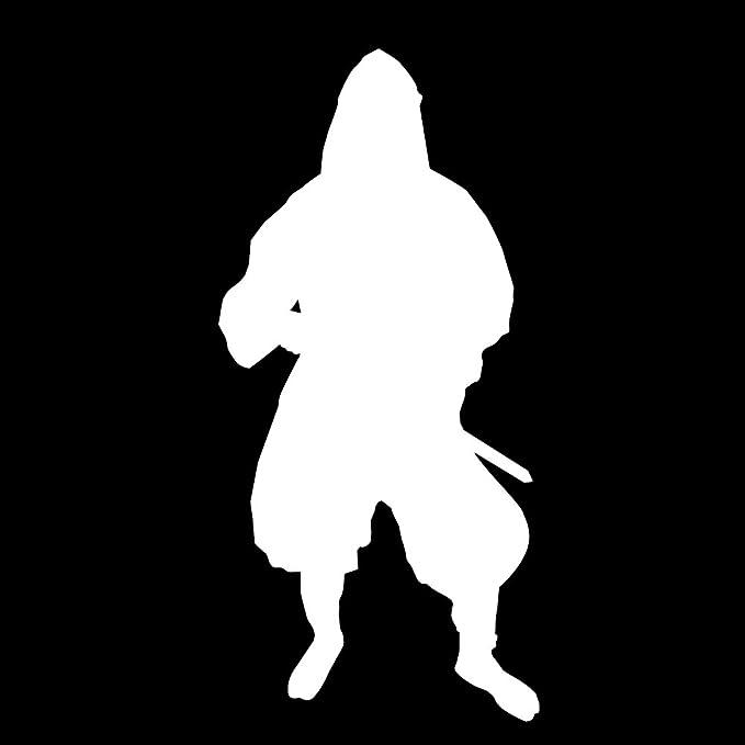 Amazon.com: Auto vynamics – Vinilo Ninja Warrior silueta, de ...