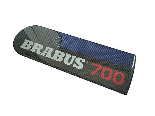 kit-car Brabus 700 Style - Carbon Fiber Emblem Spare Tire Cover Logo Badge for Mercedes-Benz W463 W464 W463A G-Class G500 G55 G63 G65 - 1 pc