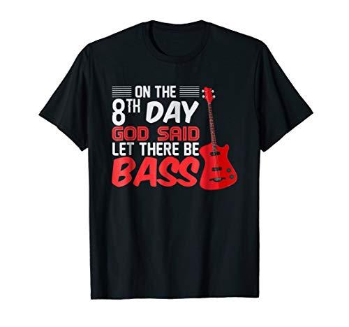Bass Guitar Player T-Shirt Christian Band Bassist -