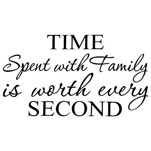 family clock wall decal - 6