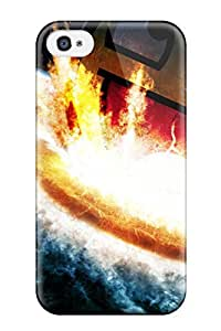 Fashion Design Hard Case Cover/ MOLHWpr13012CqLmO Protector For Iphone 4/4s