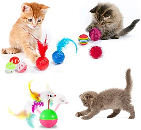 AILUKI 29 PCS Cat Toys Kitten Toys Assortments 4