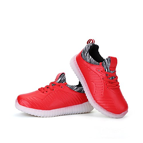 OUYAJI Boys girls LED flashing shoes rechargeable six in ...