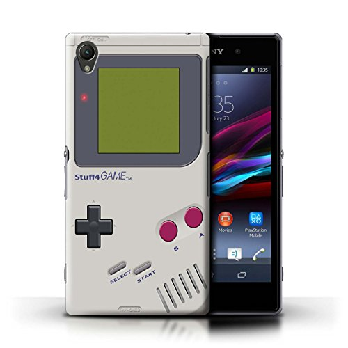 Kobalt® Imprimé Etui / Coque pour Sony Xperia Z1 / Game Boy conception / Série Console (jeux vidéo)
